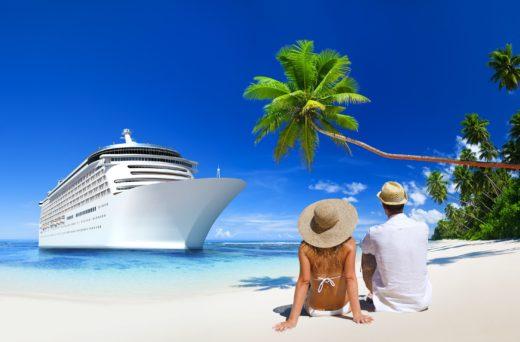 Cruiseschip tropisch